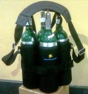 Apria M6 TankTote - 4-Pack Oxygen Cylinder Carrier
