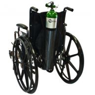 Nylon Wheelchair Oxygen Bag - D/E Cylinder